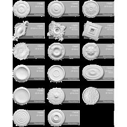 ceiling medallions polyuret